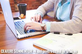 Ceaiuri Sonnentor - 4 idei pentru ceaiul de la birou