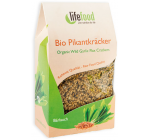 Crackers cu leurda raw bio 90g