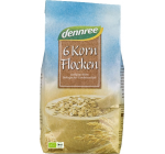 Fulgi Bio din 6 cereale integrale