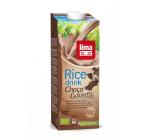 Lapte de orez cu ciocolata soia si calciu bio 1l