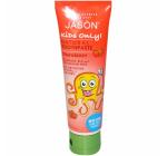 Pasta naturala de dinti cu capsuni pt copii Jason 119g