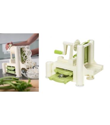 Feliator de legume orizontal verde