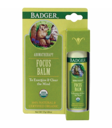 Balsam aromaterapie Focus Mind Badger 17 g