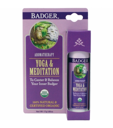 Balsam aromaterapie Yoga si Meditatie Badger 17 g