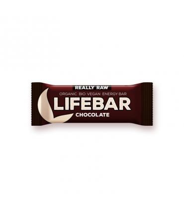 Baton raw bio cu ciocolata lifebar