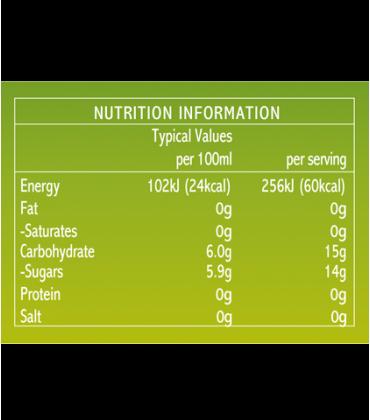 Bautura de otet comvita valori nutritionale