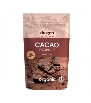 Cacao pudra raw bio
