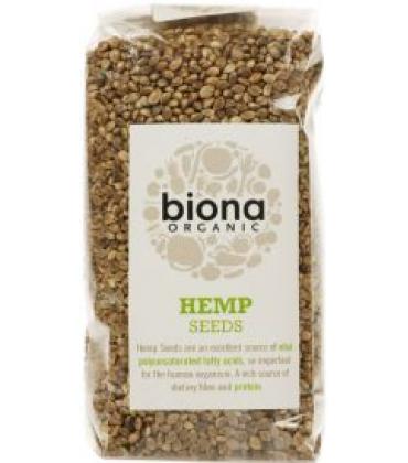 Seminte integrale de canepa organica