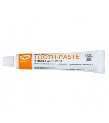 Pasta de dinti cu citrice, homeopata