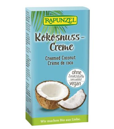 Crema de cocos rapunzel