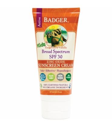 Crema protectie solara spf 30 cu mandarine si vanilie pt