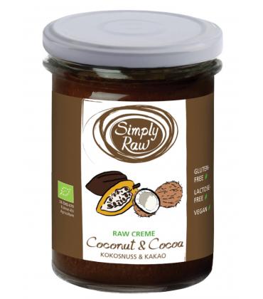 Crema raw cu cocos si cacao bio 170g