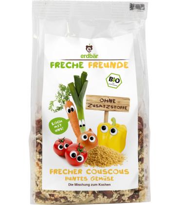 Cuscus cu legume bio 250g