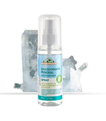 Deodorant mineral spray cu alaun Corpore Sano 80 ml