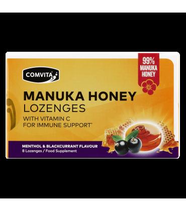 Dropsuri cu miere manuka si fructe de padure