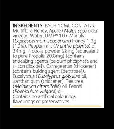 Elixir propolis ingrediente