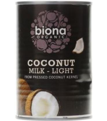 Lapte de cocos light