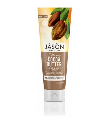 Lotiune hidratanta cu unt de cacao pt maini si corp 227g Jason