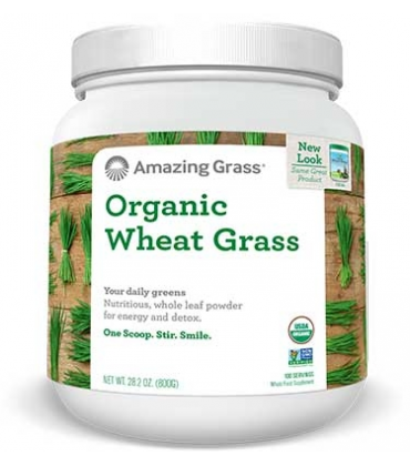 Organic wheat grass