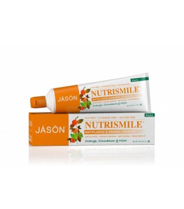 Pasta de dinti Nutrismile pentru prevenirea tartrului si cariilor Jason