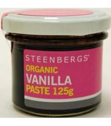 Pasta de vanilie bio 125gr