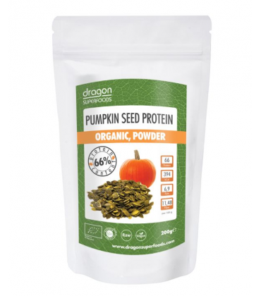 Pudra proteica din seminte de dovleac raw eco 200g
