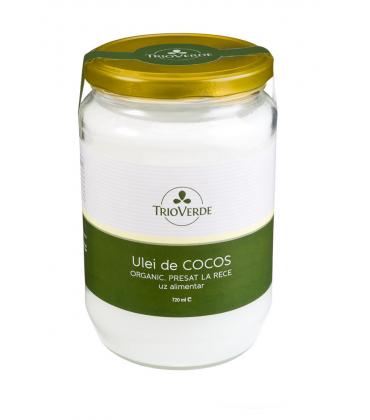 Ulei de cocos organic preset la rece