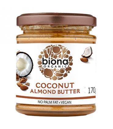 Unt de migdale si cocos bio 170g Biona