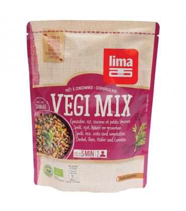 Vegi mix din spelta orez ovaz si legume Bio 250gr