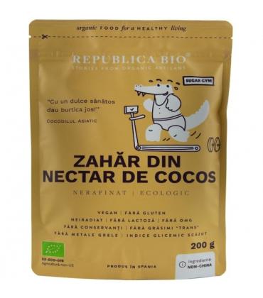 Zahar din nectar de cocos pur bio